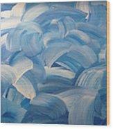 Winter Lillies Wood Print