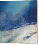 Winter Pastel Wood Print