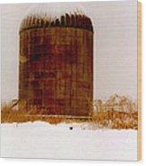 Winter Rust Wood Print