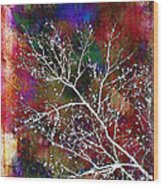 Winter Wishes Wood Print by Judi Bagwell