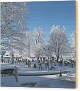 Winter Wonderland Series 7 Wood Print