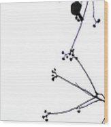 Winterbirds Duet Wood Print