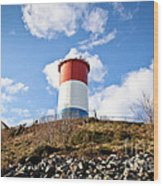 Winthrop Water Tower Wood Print by Extrospection Art
