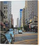 Wisconsin Avenue 2 Wood Print