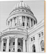 Wisconsin State Capitol Wood Print