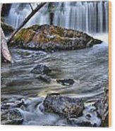 Wisconsin Waterfall Wood Print