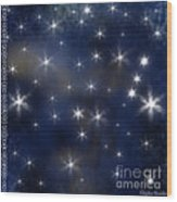 Wish Upon A Star Wood Print