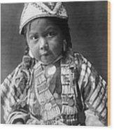 Wishram Girl 1909 Wood Print
