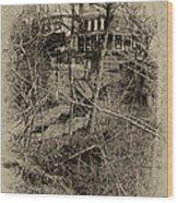 Wissahickon's 100 Steps Wood Print