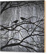 Witnesses Wood Print