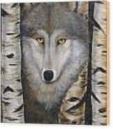 Wolf Beauty Wood Print