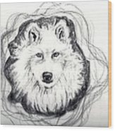 Wolf Totem Wood Print