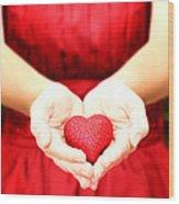 The Heart Wood Print