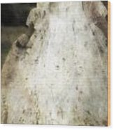 Woman In A Meadow Wood Print by Joana Kruse