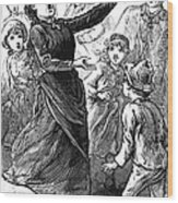 Woman Preaching, 1888 Wood Print