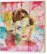 Woman's Soul Prelude Wood Print