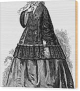 Womens Fashion, C1850s Wood Print