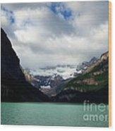 Wonderland Of Lake Louise Wood Print