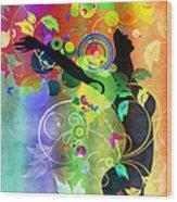 Wondrous 2 Wood Print