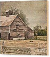 Wood Barn Wood Print