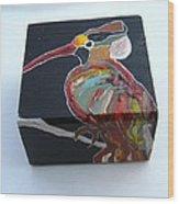 Wood Pecker Wood Print