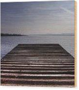 Wooden Bridge Wood Print by Joana Kruse