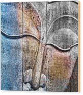 Wooden Buddha Wood Print