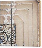 Wooden Flowers Wood Print