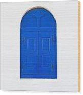 Wooden Window Wood Print