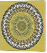Woodland Abstract Wood Print