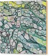 Woodpile 005 Wood Print