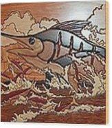 Woodwork Wood Print