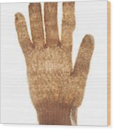 Woolen Glove Wood Print by Bernard Jaubert