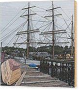 Working Dock Wood Print
