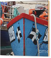 Working Harbour Wood Print by Terri Waters