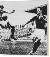 World Cup, 1938 Wood Print