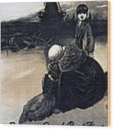 World War I, Poster Showing A Mother Wood Print by Everett
