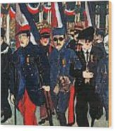 World War I: Veterans Wood Print