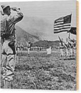 World War II, Brigadier General E.b Wood Print by Everett