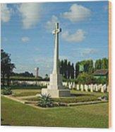 World War Memorial Wood Print