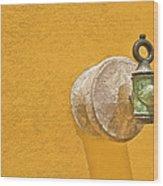 Worn Brass Spigot  Of Medieval Europe Wood Print