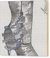 Wrath Boot Wood Print
