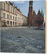 Wroclaw Town Hall Wood Print