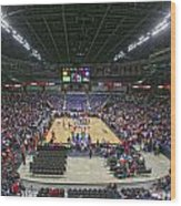 Wsu Basketball 2012 Arena Wood Print