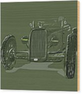 Ww2 Rod Wood Print by Jeremy Lacy