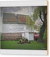 Wye Mill Wood Print