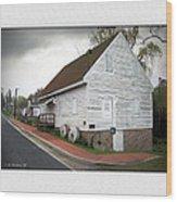 Wye Mill - Street View Wood Print