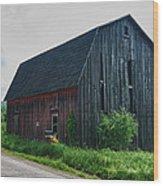 Wyoming County 5673c Wood Print