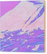 Wyoming Mountains 4-2 Wood Print