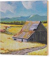 Wyoming Valley Wood Print